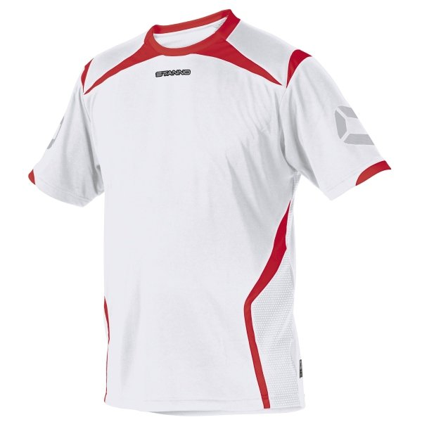 Stanno Torino SS White/Red Football Shirt