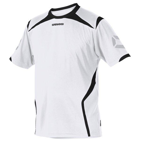 Stanno Torino SS White/Black Football Shirt