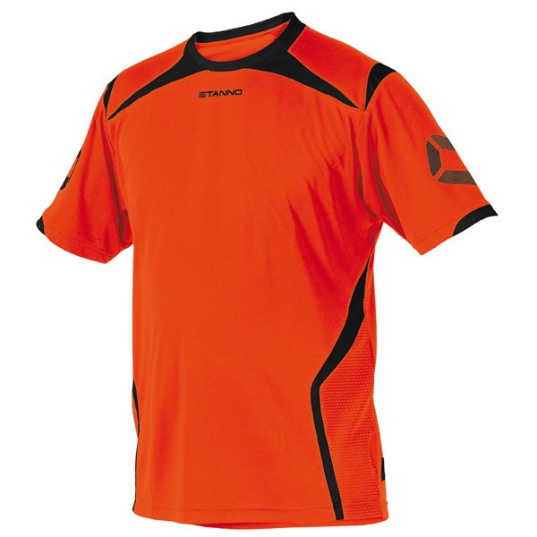 Stanno Torino SS Orange/Black Football Shirt