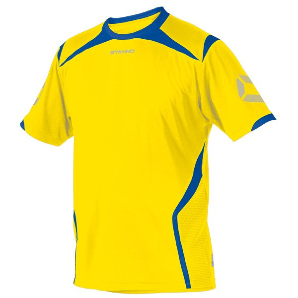 Stanno Torino SS Yellow/Royal Football Shirt
