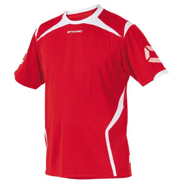 Stanno Torino SS Red/White Football Shirt