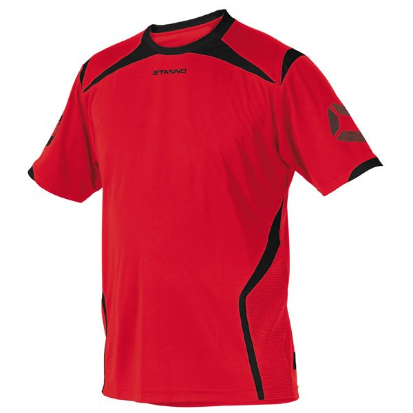 Stanno Torino SS Red/Black Football Shirt