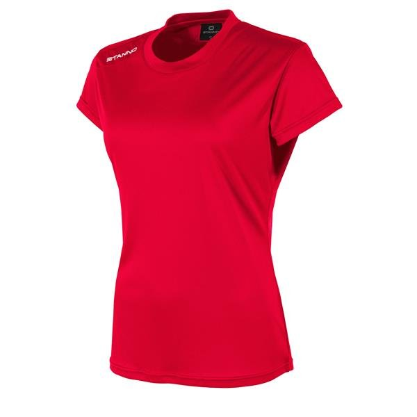 Stanno Field SS Red Ladies Football Shirt