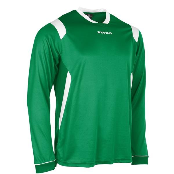Stanno Arezzo LS Football Shirt Yellow/green