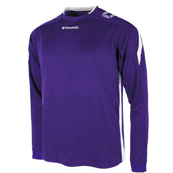 Stanno Drive LS Football Shirt Royal/white