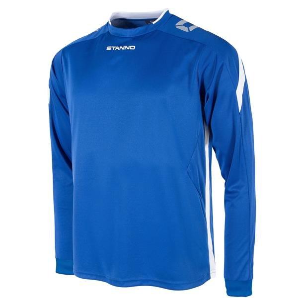 Stanno Drive Royal/White LS Football Shirt