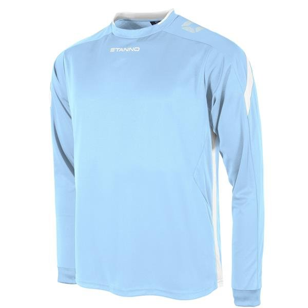 Stanno Drive Sky/White LS Football Shirt