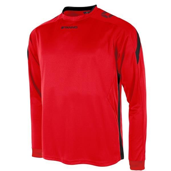 Stanno Drive Red/Black LS Football Shirt