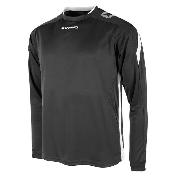 Stanno Drive Black/White LS Football Shirt