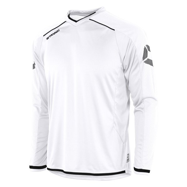 Stanno Futura LS Football Shirt White/black