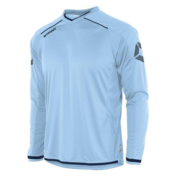Stanno Futura Sky/Navy Long Sleeve Football Shirt