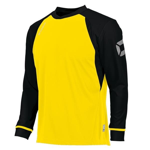 Stanno Liga Yellow/Black LS Football Shirt