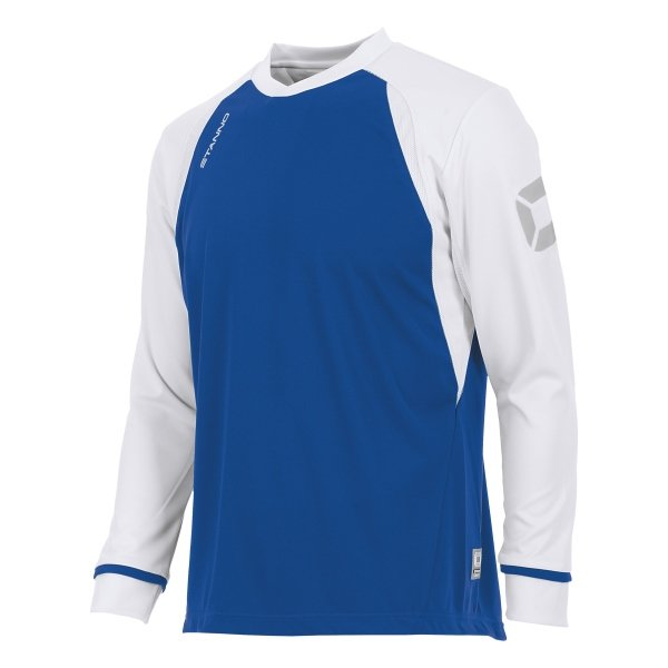 Stanno Liga Royal/White LS Football Shirt