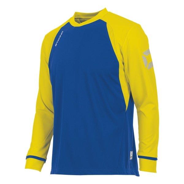 Stanno Liga Royal/Yellow LS Football Shirt