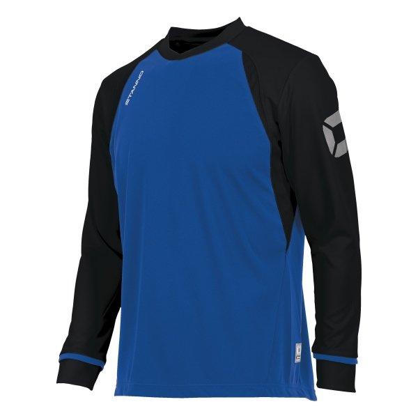 Stanno Liga Royal/Black LS Football Shirt
