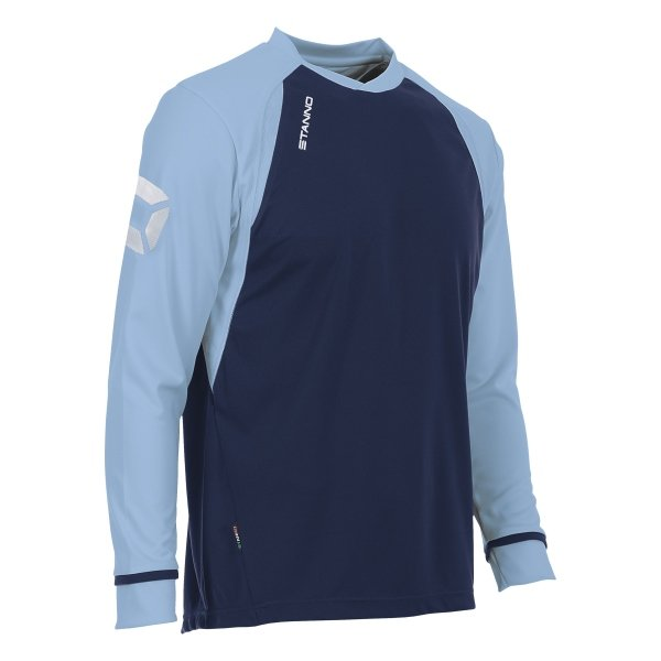 Stanno Liga Navy/Sky LS Football Shirt