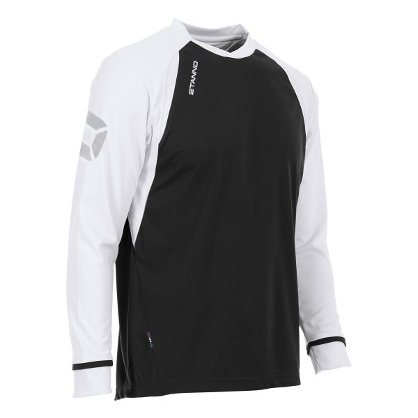 Stanno Liga Black/White LS Football Shirt