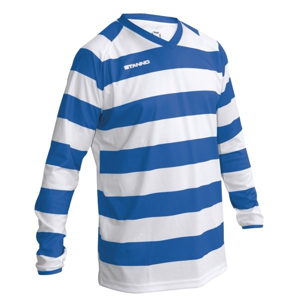 Stanno Lisbon Football Shirt White/black