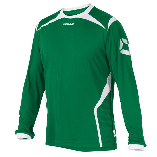 Stanno Torino LS Football Shirt Yellow/green