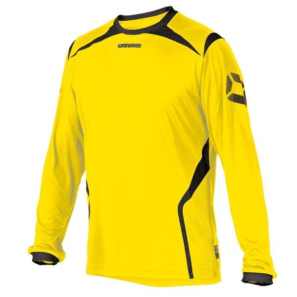 Stanno Torino LS Yellow/Black Football Shirt