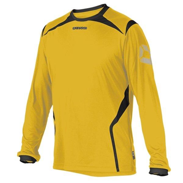 Stanno Torino LS Amber/Black Football Shirt