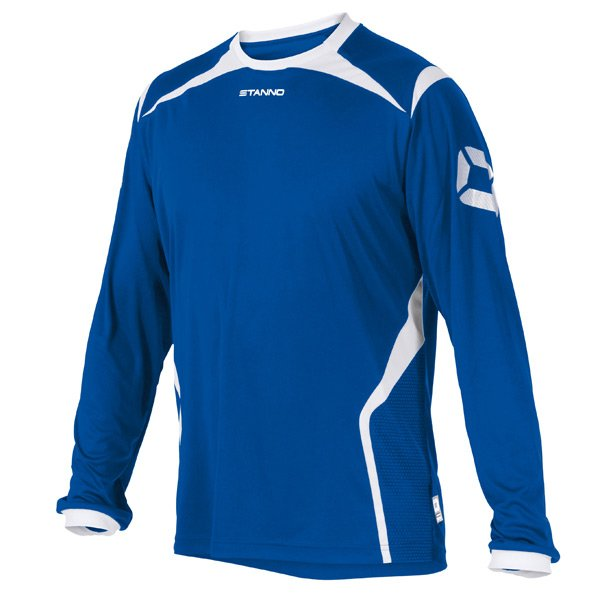Stanno Torino LS Royal/White Football Shirt