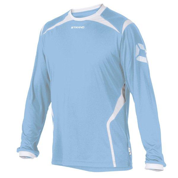 Stanno Torino LS Sky/White Football Shirt