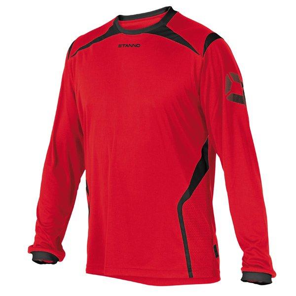 Stanno Torino LS Red/Black Football Shirt