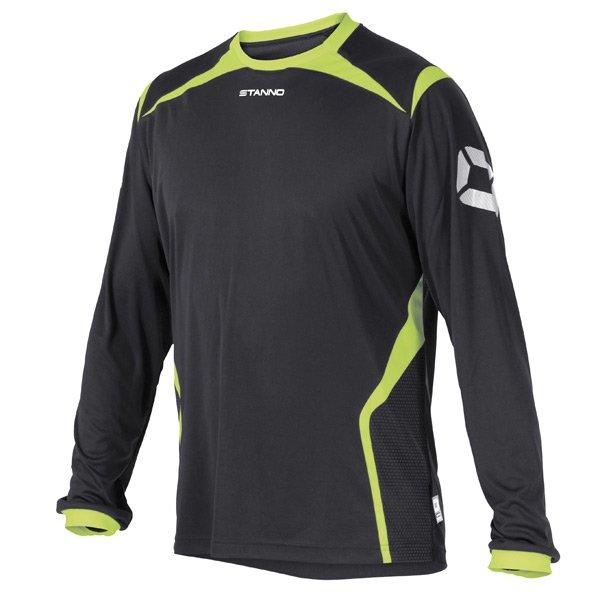 Stanno Torino LS Anthracite/Neon Football Shirt