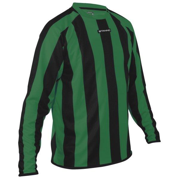 Stanno Goteborg Green/Black Football Shirt