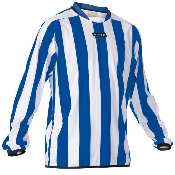 Stanno Goteborg White/Royal Football Shirt