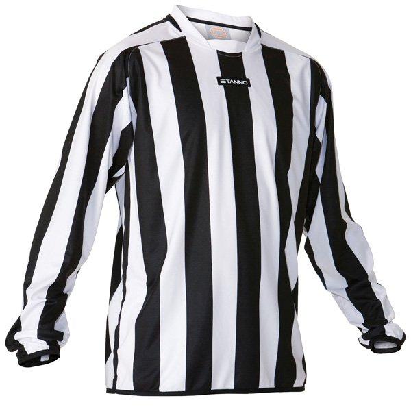 Stanno Goteborg White/Black Football Shirt