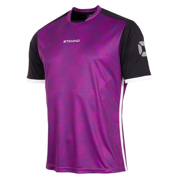 Stanno Pulse Purple/Black SS Football Shirt