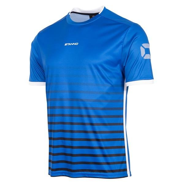 Stanno Fusion Royal/Black SS Football Shirt