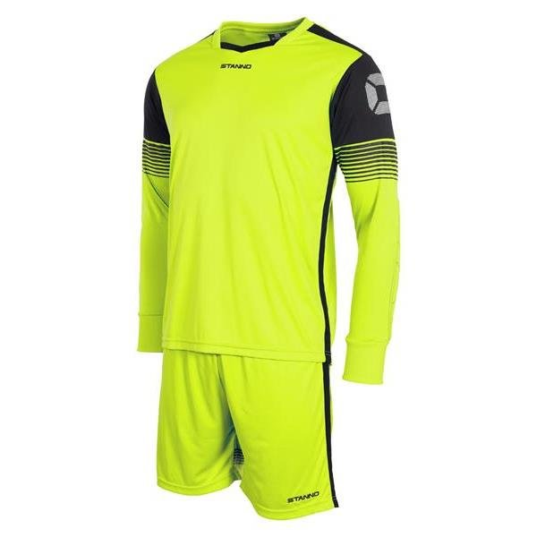 Stanno Nitro Goalkeeper Shirt & Short Lime/black