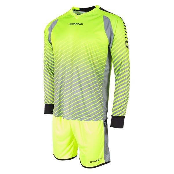 Stanno Neon Yellow/Black Blitz Goalkeeper Shirt & Short