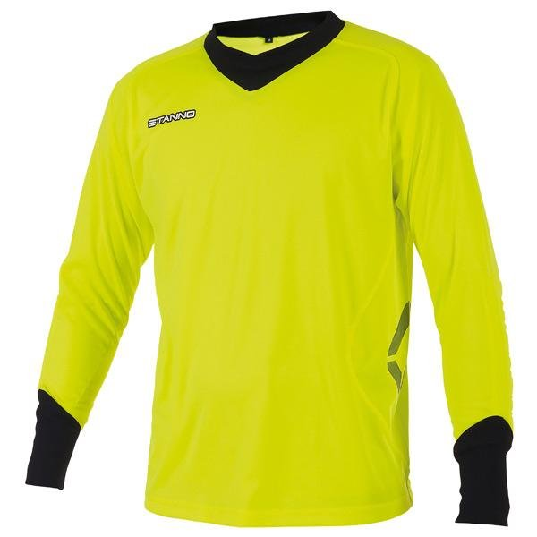 Stanno Genova Goalkeeper Shirt Lime/black