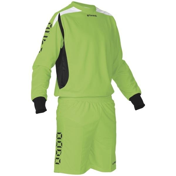Stanno Sunderland Goalkeeper Shirt & Short Lime/black