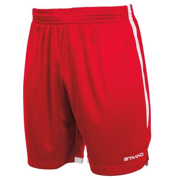 Stanno Focus Red/White Football Shorts