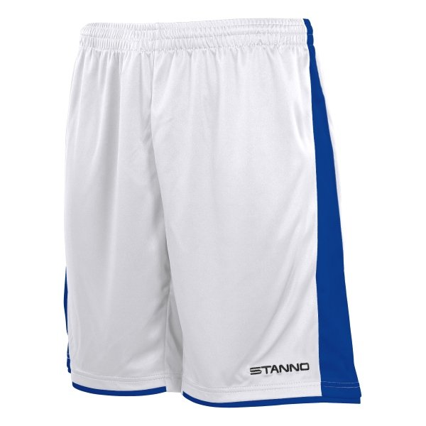 Stanno Milan Football Short White/royal
