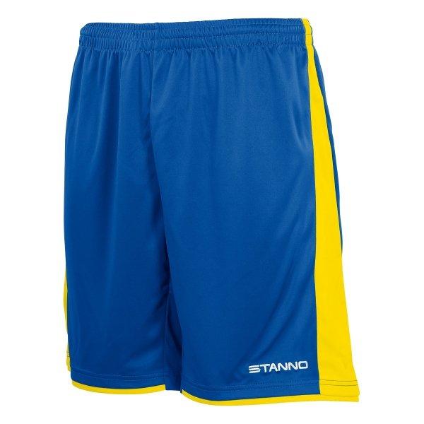 Stanno Milan Royal/Yellow Football Short
