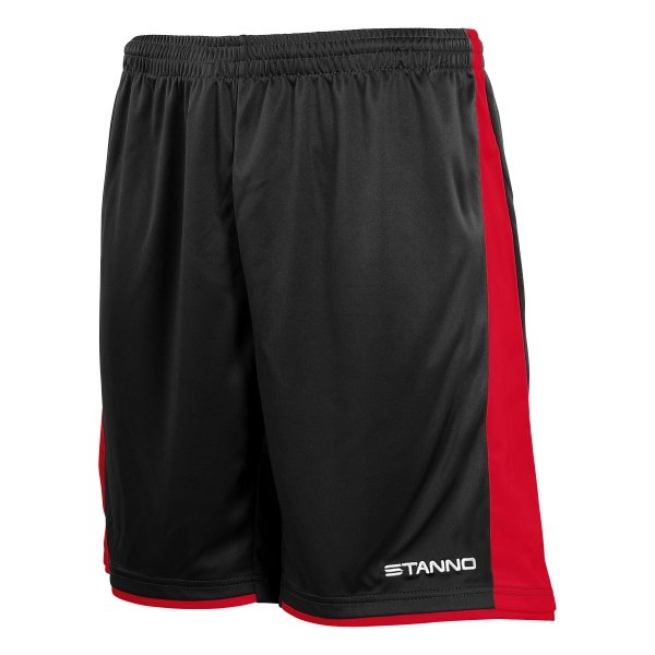 Stanno Milan Black/Red Football Short