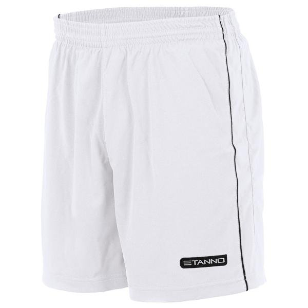 Stanno Match White/Black Football Shorts Youths