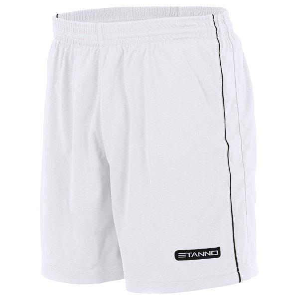 Stanno Match White/Black Football Shorts