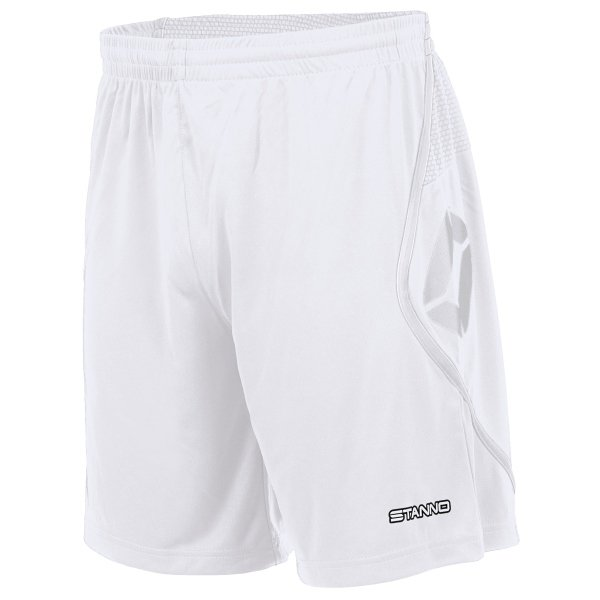 Stanno Pisa Football Shorts White/black