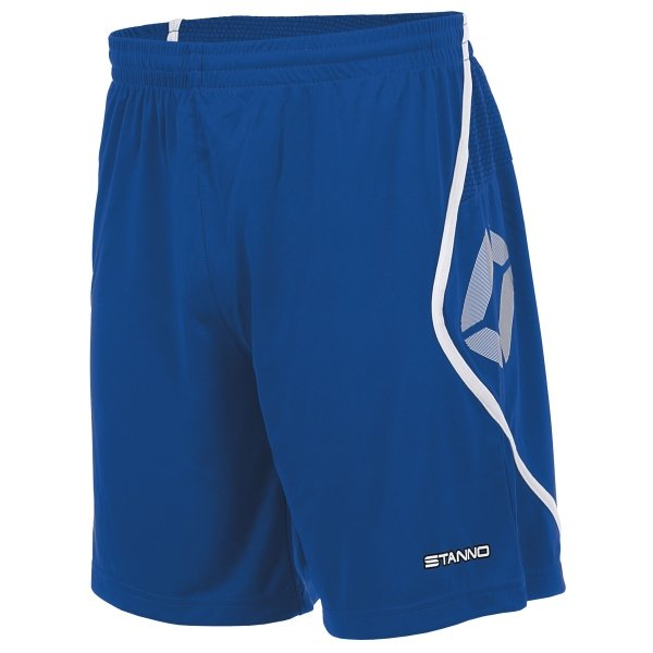Stanno Pisa Royal/White Football Shorts