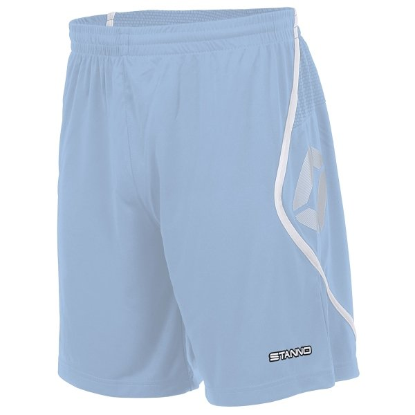 Stanno Pisa Sky/White Football Shorts
