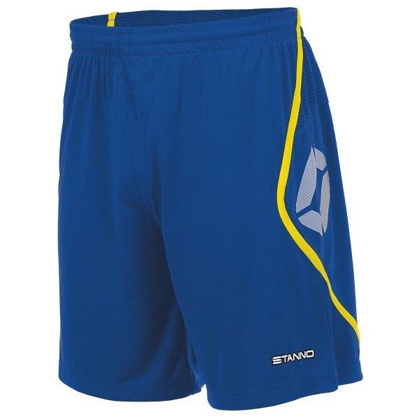 Stanno Pisa Royal/Yellow Football Shorts