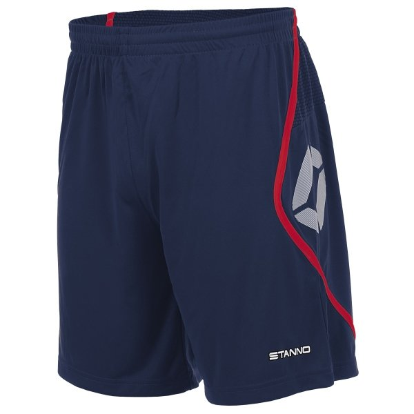 Stanno Pisa Navy/Red Football Shorts