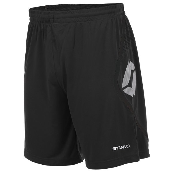 Stanno Pisa Black Football Shorts